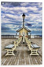 End Of The Pier Show, Acrylic Print