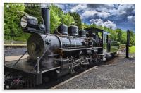 Baldwin Locomotive, Acrylic Print