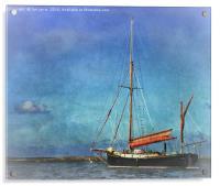 Thames Sailing Barge, Acrylic Print