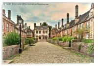 Vicars Close Wells , Acrylic Print