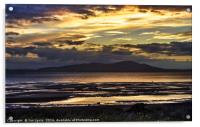 Evening Light Over The Solway Firth, Acrylic Print