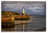 Early Morning At Maryport Harbour, Acrylic Print
