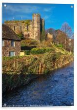 Brecon Castle, Acrylic Print