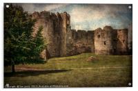 Chepstow Castle Towers, Acrylic Print