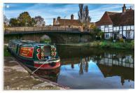 Hungerford Wharf, Acrylic Print