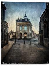 The Town Hall At Abingdon, Acrylic Print