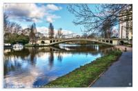 Reading Bridge , Acrylic Print