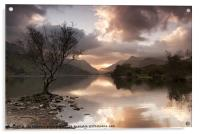 Sunrise over Llyn Padarn, Acrylic Print