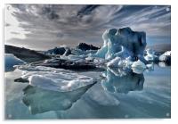 Dramatic Iceberg, Acrylic Print
