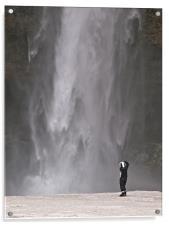 Iceland Waterfall, Acrylic Print