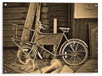 The Fishmongers Bicycle, Acrylic Print