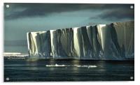 Iceberg in the Ross Sea at Night, Acrylic Print