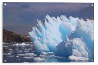 Iceberg Cierva Cove Antarctica, Acrylic Print