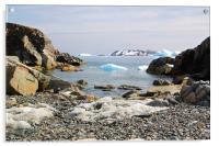 Cierva Cove Antarctica, Acrylic Print