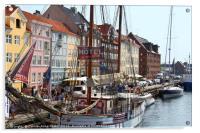 Nyhavn Copenhagen Denmark, Acrylic Print