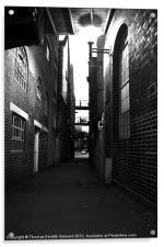 Old London Street, Acrylic Print
