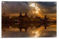 Liverpool morning, Acrylic Print