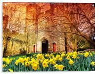 The Gateway - Arundel Castle, Acrylic Print