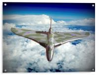 Vulcan XH558 In The Sky !!, Acrylic Print