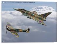 Spitfire and Typhoon Battle of Britain 3, Acrylic Print
