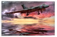 Sunset on The Vulcan, Acrylic Print