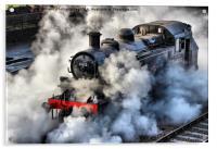 41312 Raises Steam 1, Acrylic Print