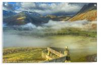 Langdale, Lake District, Acrylic Print