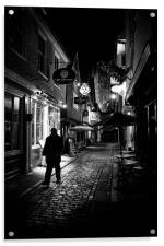 Canterbury at Night, Acrylic Print