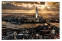 London from the Sky Garden, Acrylic Print