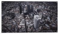 London Finance District, Acrylic Print