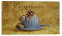 Cappuccino, Acrylic Print