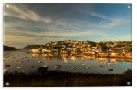 Sunrise, Salcombe Estuary Devon , Acrylic Print