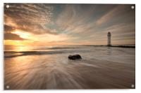 SEA MIMICS THE SKY, Acrylic Print