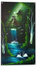 Waterfall of love <3, Acrylic Print