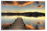 On Windermere, Acrylic Print