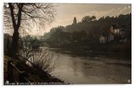 Bridgnorth, Acrylic Print