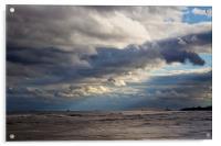 Big mixed up sky, Acrylic Print