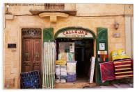 Valletta General Store, Acrylic Print