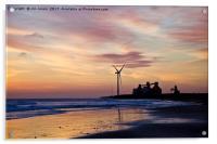Dawn silhouettes, Acrylic Print
