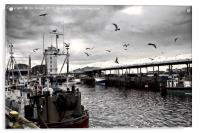 North Shields Fish Quay , Acrylic Print