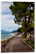 Lake Garda (2), Acrylic Print