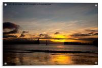 Northumbrian Sunrise, Acrylic Print
