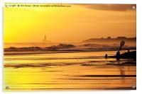 December sunrise, Acrylic Print