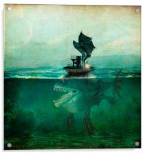 Marooned, Acrylic Print