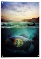 Something Fishy, Acrylic Print