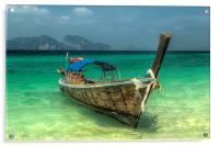 Thai Boat, Acrylic Print