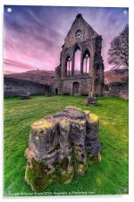 Old Abbey, Acrylic Print