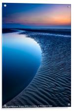Blue Hour, Acrylic Print
