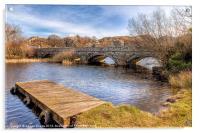 Padarn Bridge, Acrylic Print