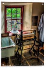 Victorian Wash Room, Acrylic Print